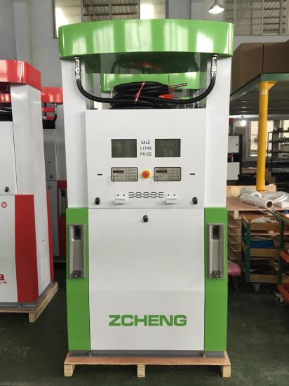 Zcheng Green Color Creative Series Gas Station Fuel Dispenser No ESD pictures & photos