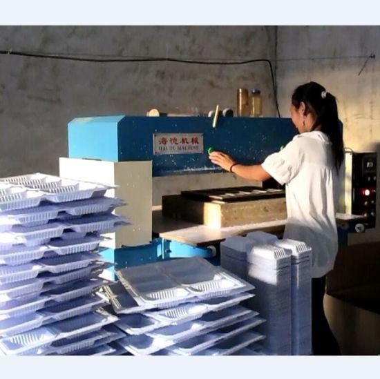 Hydraulic Four Column Plastic Sheet Cutting Machine