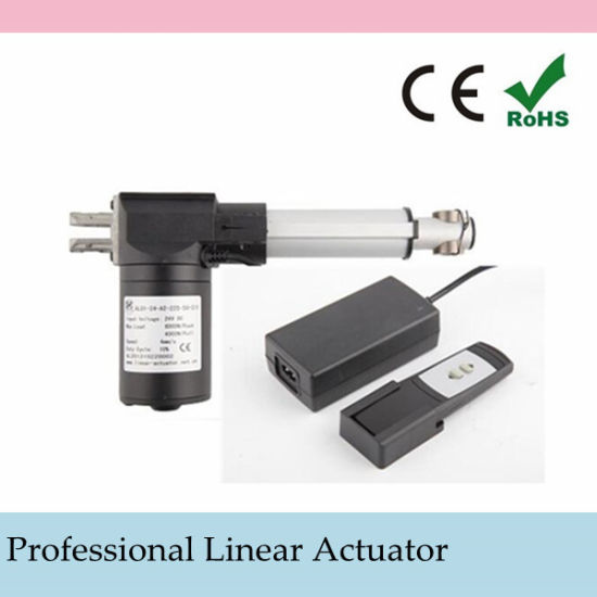 12V Heavy Duty Linear Actuator with AC to 12 VDC Power Supply and Wireless Remote Control pictures & photos