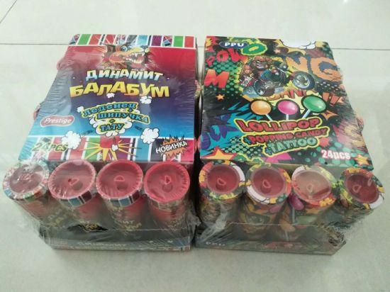 Firecracker Lollipop+Popping Candy
