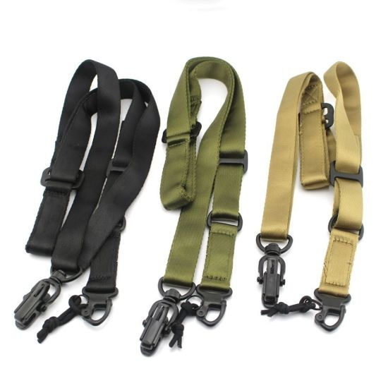 3colors Military Multi Mission Gun Scope Rifle Airsoft Sling