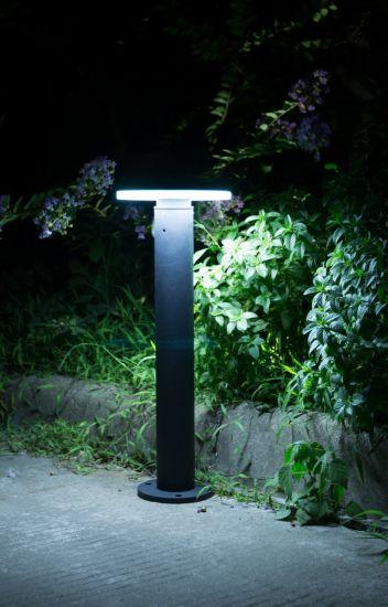 Aluminum LED Solar Lawn Light with Solar Energy
