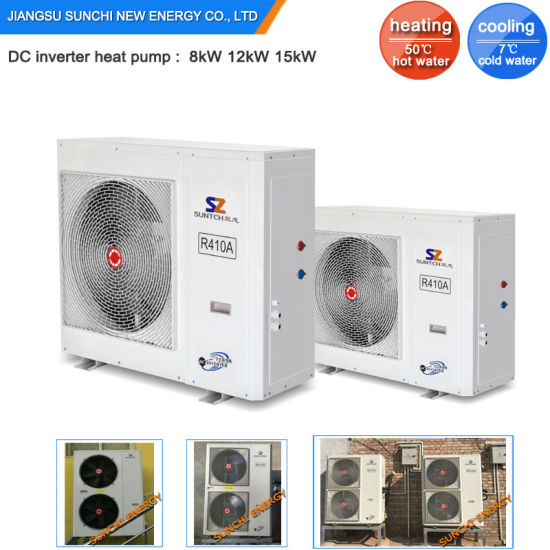 China 27c Winter 12kw 19kw Inverter Heat Pump Radiant Floor