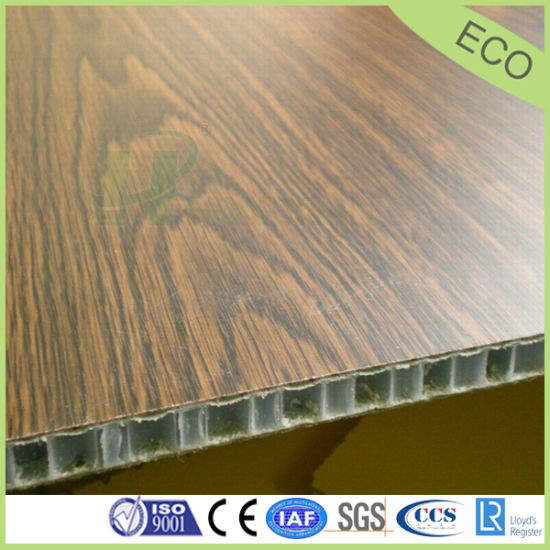 Lightweight Fire Proof Wood Grain Panels For Furniture