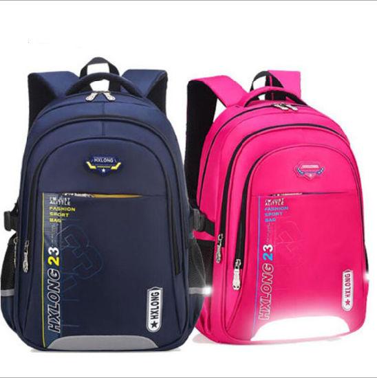 Safety Reflective Stripe Schoolbag Children Schoolbag