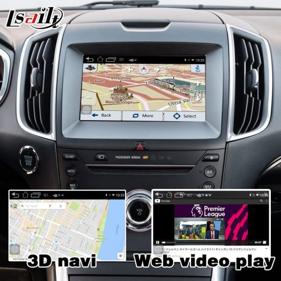 Android   Gps Navigation Box For Ford Edge Sync  With Mirrorlink Video Interface