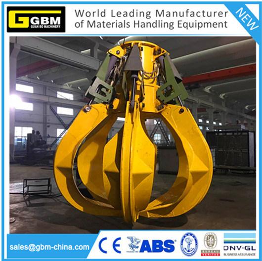 Gbm Electro Motor Hydraulic Grab Electric Hydraulic