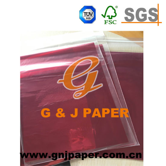 Beautiful Color Transparent Paper Used on Food Wrapping pictures & photos