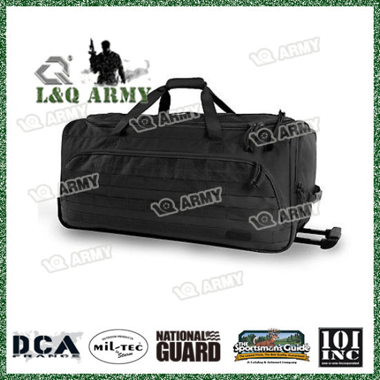 5e45f26374 China Highland Tactical Squad 30-Inch Large Tactical Rolling Duffel ...