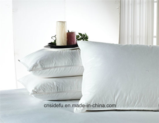 Super Soft Hotel Duck Goose Down Feather Pillow pictures & photos