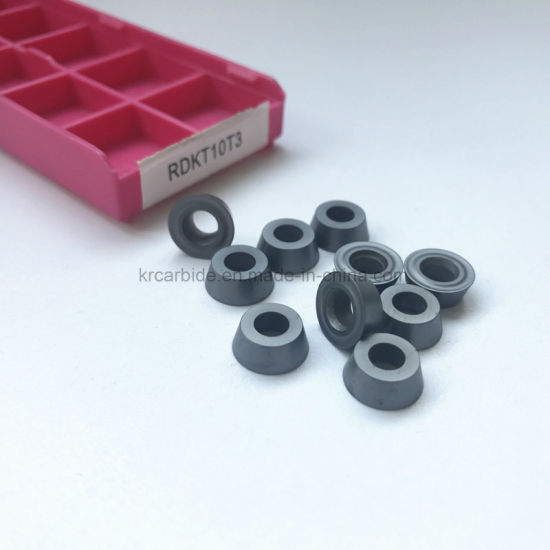 Wholesale Tungsten Carbide CNC Milling Inserts Rdkt with PVD Coating