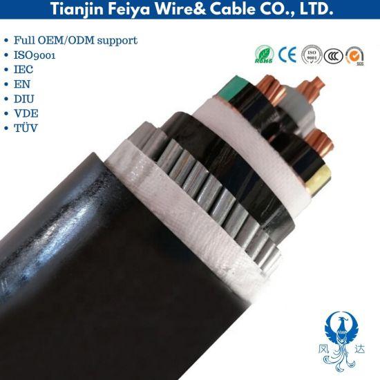 4X120 + 1X70 mm2 N2xy, Power Cable, 0.6/1 Kv, Cu XLPE PVC
