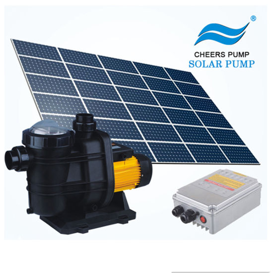 Jintai 3 Years Warranty Solar Swimming Pool Pump with MPPT Controller