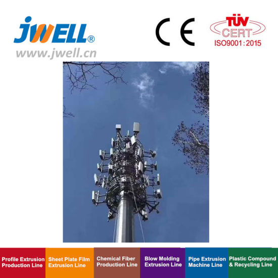 Jwell Hotsale 5g Radome Profile Extrusion Machine pictures & photos