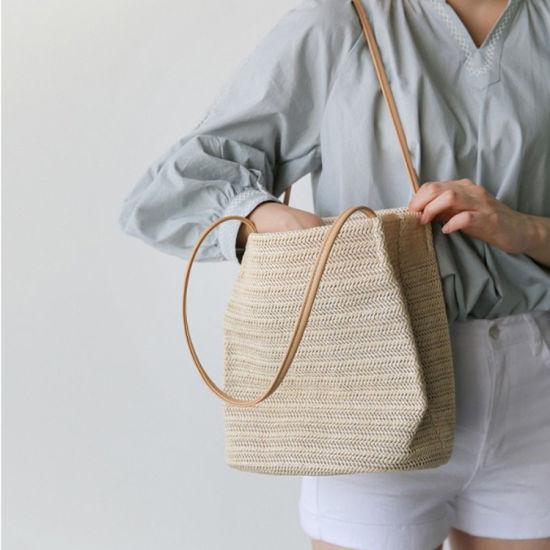 Women Designer Tote Bags Handbag Style Beach Women Straw Bags