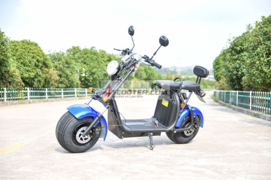 EEC Approved 1500W 60V Electric Harley Scooter City Coco pictures & photos