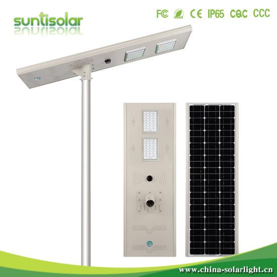 Solar Power CCTV Camera 100W Solar Street Light