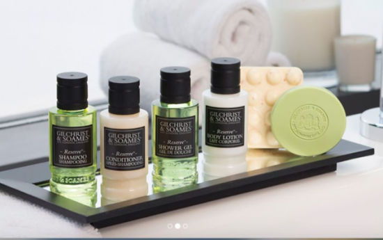 Natural Aromatic Hotel Cosmetic Amenity to Italy