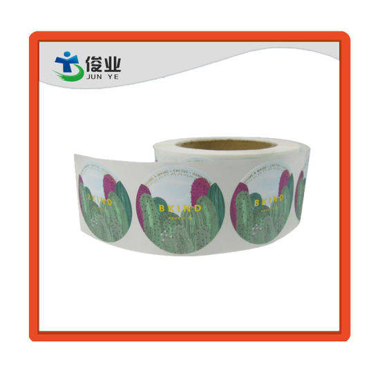 Customized Printing Roll Sticker/Multi-Use Self Adhesive Paper Label
