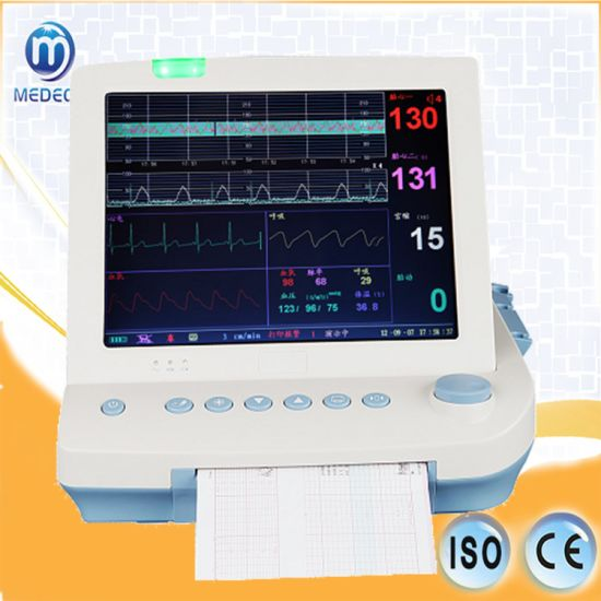 Hospital Patient Tabletop Multi-Parameter Fetal ECG Monitor 9000b pictures & photos