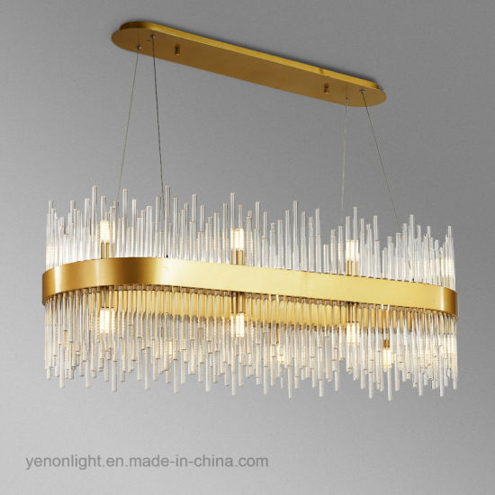 Modern Fashion LED Crystal Chandelier Dining Room Pendant Lamp pictures & photos