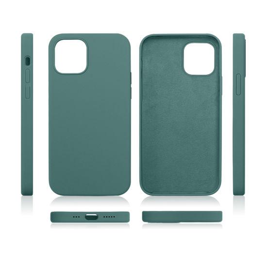 Hot Sale Waterproof Dustproof Liquid Silicone Phone Case for Iphones
