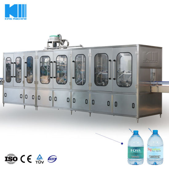 Full Automatic Plastic Bottle Mineral Water Bottle Manufacturing Machine with Ce