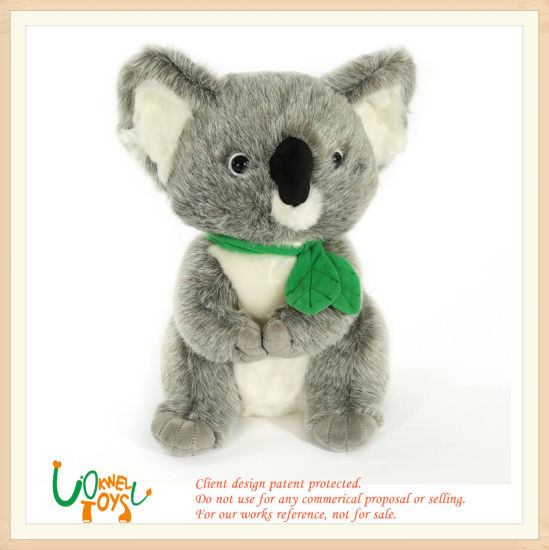 Soft Stuffed Toy Baby Lovely Koala Animal Doll Toy Gift pictures & photos