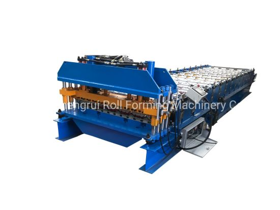 Customized Gi/PPGI Aluminium Steel Profile Former Colored Cold Steel Glazed Roof Tile Step Tile Bamboo Former Profile Roll Forming Machine Cheap Cost