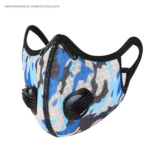 Factory Wholesale Waterproof Anti-Dust Sports Masks Replaceable And Reusable For Cycling Sport Mask