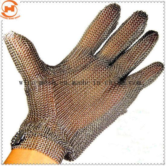 Anti Cutting Cutting Defense Stainless Steel Mesh Glove