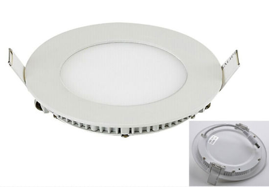 Recessed Anti-Glare LED Panel Light 15W Round Mini LED Ceiling Light