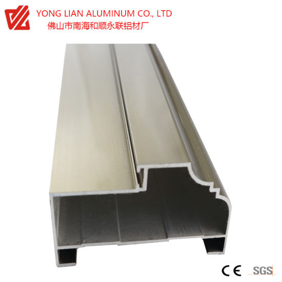 Architecture Aluminum Extrusion Profile for Aluminum Doors and Windows with Electrophoresis pictures & photos