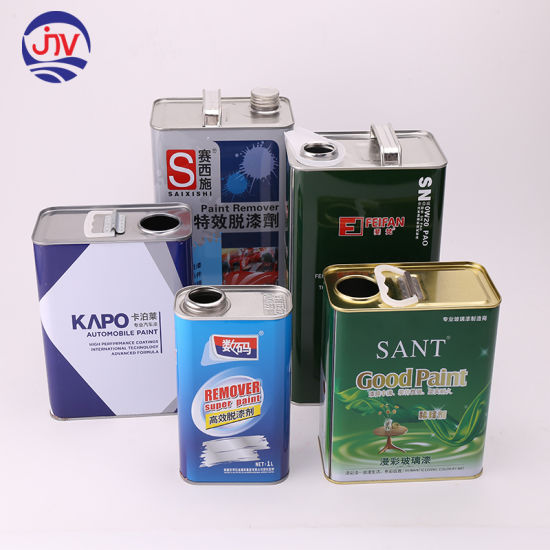 Custom Rectangle Metal Cans for Sale