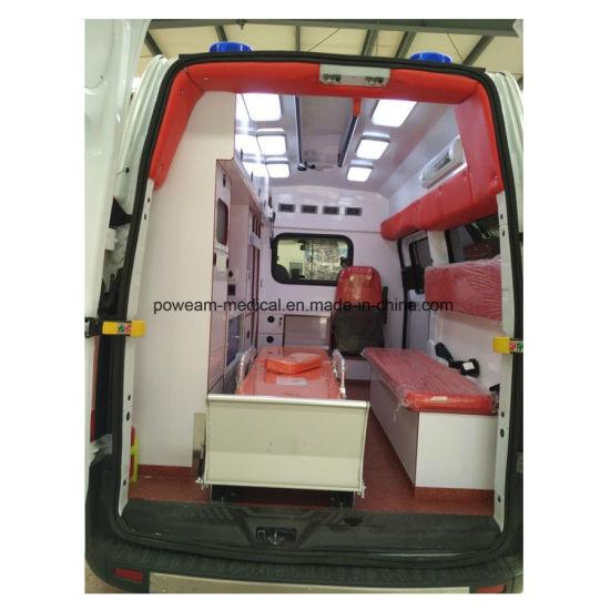Transit Emergency ICU Ambulance Car/Ambulance