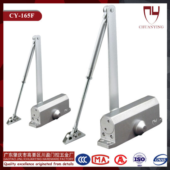 Door Accessories Regulable Aluminum Alloy Fireproof Medium Hexagonal Door Closer pictures & photos
