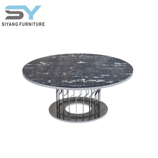 Aviator Furniture Marble Table Top Set Modern Coffee