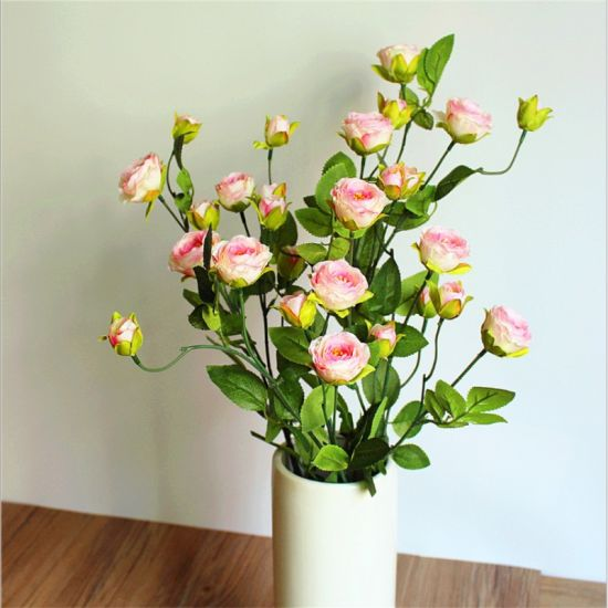 China new wild rose style home party hotel decoration artificial new wild rose style home party hotel decoration artificial silk flower mightylinksfo