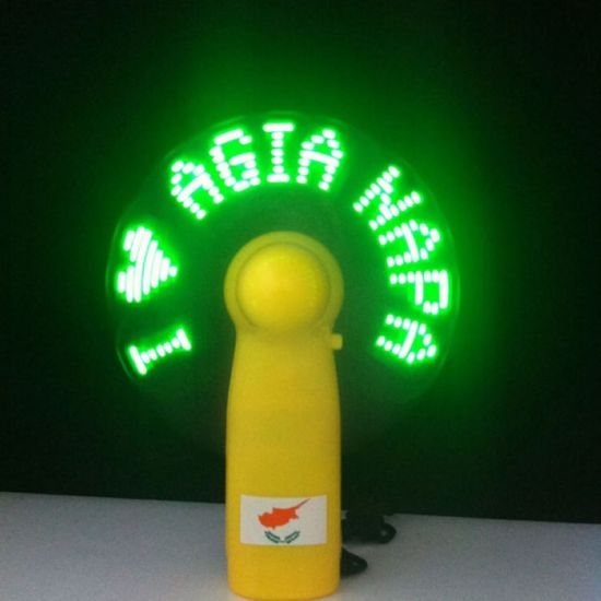 Mini LED Fan with Text LED Fan with Message