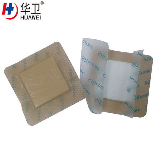 20X20 PU Foam Dressing Silicone Waterproof