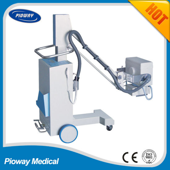 Hot Sale 63mA High Frequency Mobile X-ray Equipment (PLX101A)