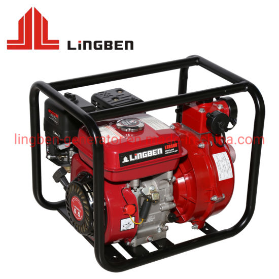 Petrol Set High Pressure Kerosene Fire Fighting Equipment Fire Pressure Double Impellers Water Pump pictures & photos