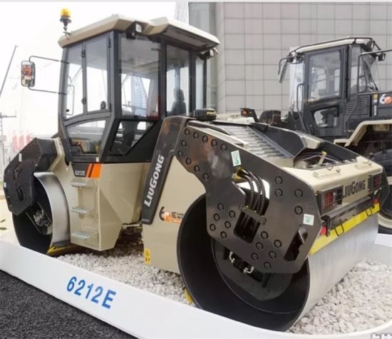 Top Quality Liugong 12 Ton Double Drum Road Roller Clg6212e