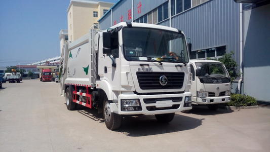 Shacman Road Sweeper/Dry Road Cleaning Vehicle pictures & photos