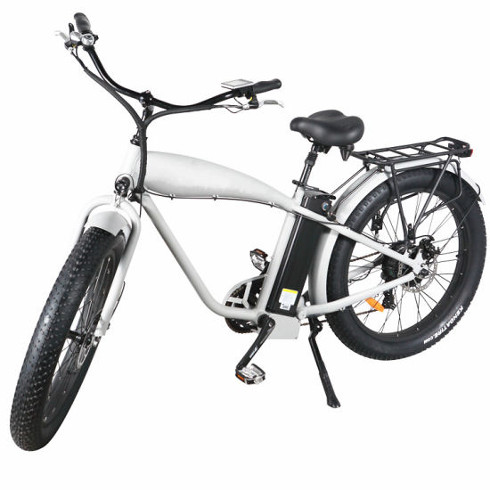 26 Inch Retro Style Electric Bike with Fat Tyre
