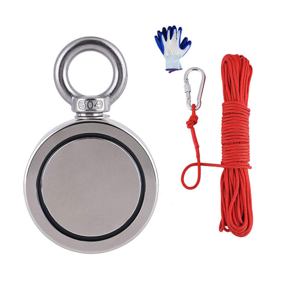 Free Sample Industrial Rare Earth Permanent Neodymium/NdFeB D75mm Fishing/Searching Magnet Assembly