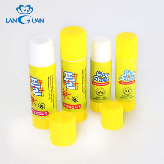 Non-Toxic Ultra Strong Adhesive Pvp Solid Glue Stick for Student and Office