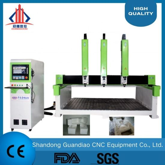 China Atc Advertising CNC Router 1325 for Solidwood, MDF, Aluminum, Alucobond, PVC, Plastic, Foam