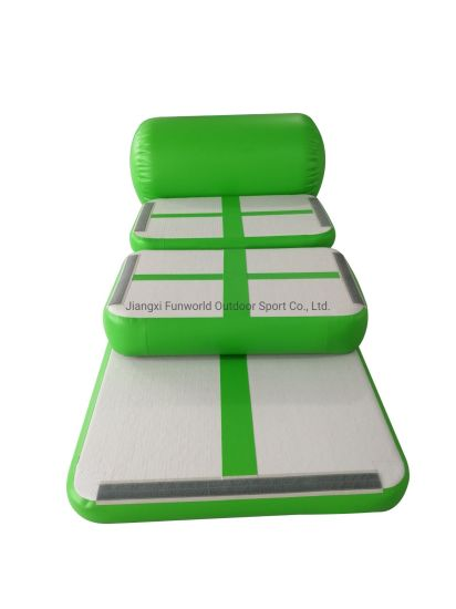 Hot Indoor Customized Size Air Track Gym Equipment Inflatable Mat and Gymnastics Floor for Kids