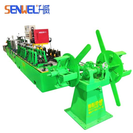Stainless Steel Round Square Welded Pipe Making Machine Tube Mill